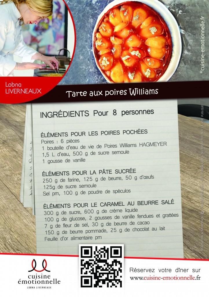 Tarte aux poires | Ingrédients